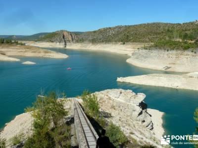 Hoz del Río Escabas - Serranía de Cuenca (Senderismo refrescante);ruta montaña madrid viajes orga